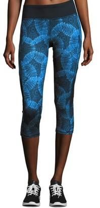 Hanes Sport Women's Performance Color Blocked Capri Leggings