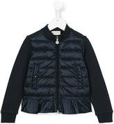 Moncler zip up padded jacket - kids - Cotton/Polyamide/Spandex/Elastane - 6 yrs