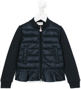 Moncler zip up padded jacket