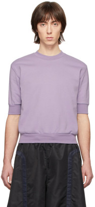 Random Identities Purple Zip Vent Sweatshirt