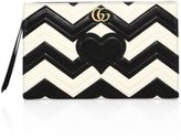 Gucci GG Marmont Matelasse Leather Clutch