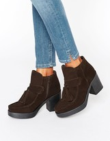 Asos REX Suede Tassel Ankle Boots