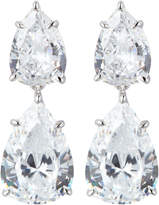 FANTASIA Double Pear-Cut Drop Earrings