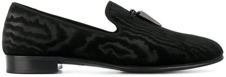 Giuseppe Zanotti Design Shark tooth slippers