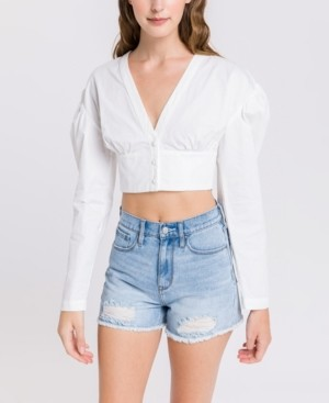 Endless Rose Poplin Crop Top