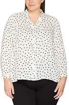 Evans Women's Heart Print Shirt