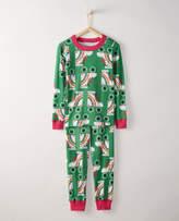 Hanna Andersson Kids Long John Pajamas In Organic Cotton