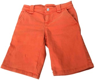 Gucci Orange Cotton Shorts