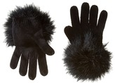 Kate Spade Marabou Pom Gloves Extreme Cold Weather Gloves