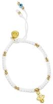 Blee Inara Hamsa Bead String Bracelet - White