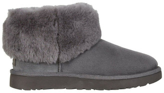 UGG Women's Classic Mini Fluff Genuine Shearling Boot