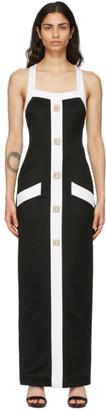 Balmain Black Trinket Button Dress