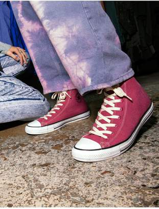 Converse Renew Canvas Chuck Taylor All Star High Top - Rose/White