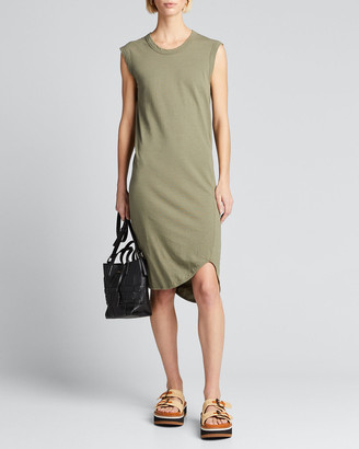Bassike Fitted Muscle Tank Dress