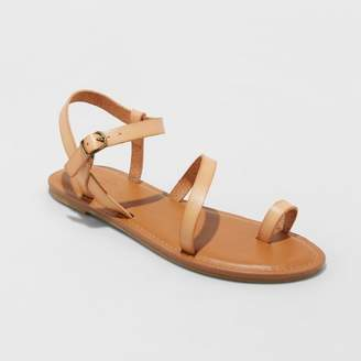 Universal Thread Women's Tera Naked Ankle Strappy Sandals