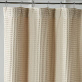 Pier 1 Imports Waffle Linen Shower Curtain