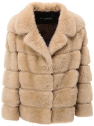 Simonetta Ravizza Quilted Fur Jacket