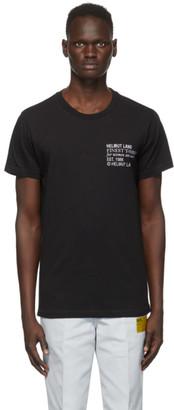 Helmut Lang Black Logo Standard T-Shirt