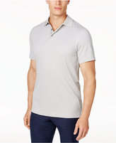 Tasso Elba Men's Supima® Blend Jacquard Polo, Only at Macy's