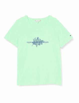 Tommy Hilfiger Women's BABETTE REGULAR C-NK TOP SS Shirt