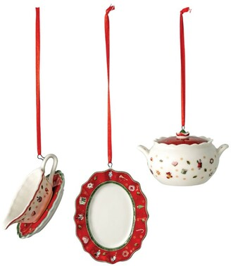 Villeroy & Boch Toy'S Delight Serving Dishes Christmas Decorations (Set Of 3)