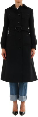Gucci Belted Single Breasted Coat