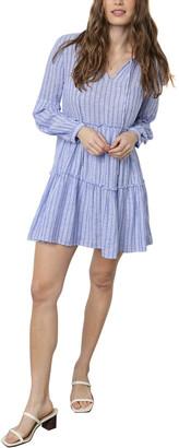 Rails Everly Linen-Blend Mini Dress