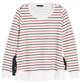 Gibson Women's Side Tie Sweatshirt