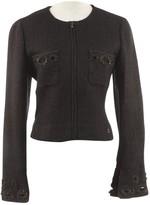 Chanel Purple Wool Jacket for Women