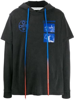 Off-White Hardcore Caravaggio hooded T-shirt