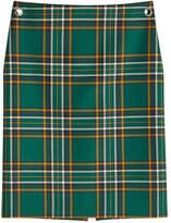 Balenciaga Virgin Wool Pencil Skirt