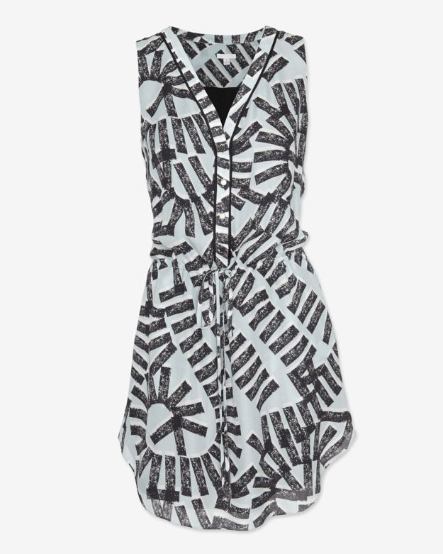 Intermix Exclusive For Sleeveless Printed Dress
