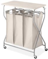 Whitmor Easy-Lift Laundry Sorter & Ironing Table