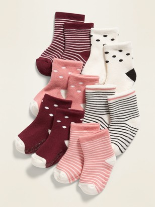 Old Navy Crew Socks 6-Pack for Baby