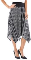 Women's AB Studio Geometric Handkerchief Skirt