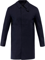 MACKINTOSH GR-002D Classic Single Breasted Rubberised Cotton & Wool Coat