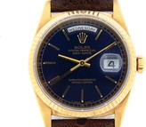 Rolex Day-Date 18238 President 18K Yellow Gold Watch 36mm