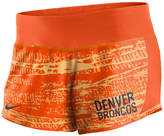 Nike Women's Denver Broncos Printed Crew Shorts