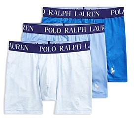 Polo Ralph Lauren Cotton Stretch 4D-Flex Lightweight Boxer Briefs, Pack of 3