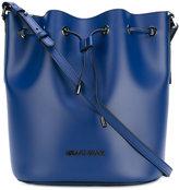 Armani Jeans drawstring crossbody bag - women - PVC/Polyester - One Size