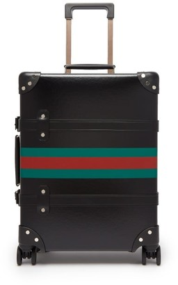 Gucci X Globe Trotter Web-stripe Carry Case - Mens - Black