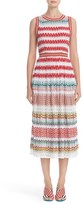 Missoni Women's Flame Stitch Knit Dress