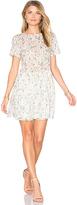 Anine Bing Floral Mini Dress