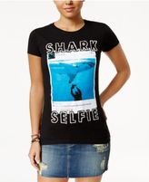 Bioworld Juniors' Shark Week Selfie Graphic T-Shirt