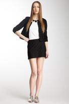 Gryphon Midnight Silk Blend Mini Skirt