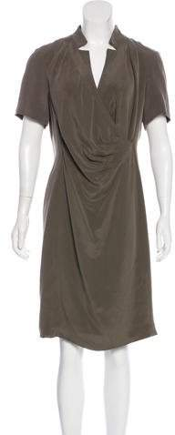 Lafayette 148 Silk Knee-Length Dress