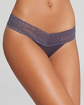 Hanky Panky Logo To Go Low-Rise Thong