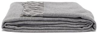 Frette Pure Cashmere Throw Blanket - Dark Grey