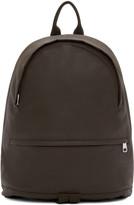 A.P.C. Brown Coated Stefan Backpack