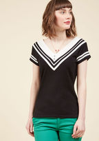 Banned Nautical Nods Knit Top in M